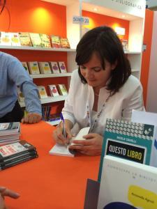 Alessandra Selmi al Salone di Torino