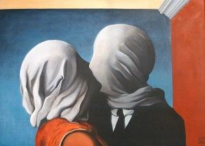 gli amanti Magritte