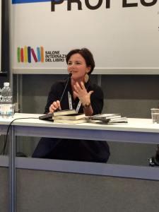 Alessandra Selmi al Salone del Libro di Torino